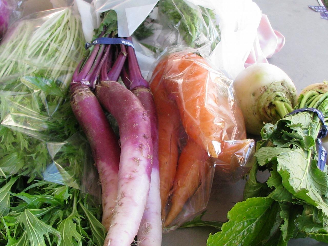 梅原農園 野菜
